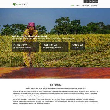 Client portfolio: AgriLedger