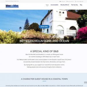Client Portfolio: Blue on Blue B&B