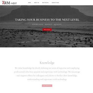 XRM-Next website